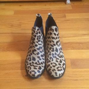 Cheetah print ankle boot from Aldo